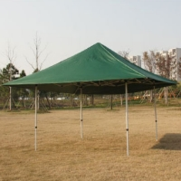High Quality 15x15 Forest Green EZ Pop Up Tent Instant Canopy Shade