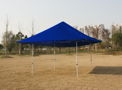 This 15u0027 x 15u0027 easy pop-up canopy is a commercial grade canopy with 1.78  hexagonal alumium leg. If you are in the market for a big shelter that is good ... & High Quality 15x15 Blue EZ Pop Up Tent Instant Canopy Shade
