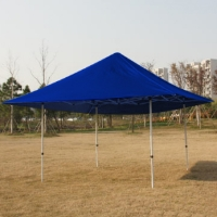 High Quality 15x15 Blue EZ Pop Up Tent Instant Canopy Shade
