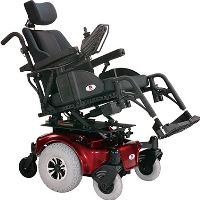 Electric Powered Mobility Scooter Chair Indoor/Outdoor Wheelchair - ALLURE RT