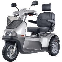 Afiscooter S+ Breeze S 3W Three Wheel Full Size Mobility Scooter - Afiscooter S3