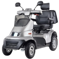 Afiscooter S+ Breeze S 4-Wheeled Full Size Mobility Scooter - Afiscooter S4