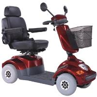 BOLERO 450 Watt Mid Size 4 Wheeled Trike Mobility Scooter