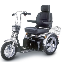 Afikim Afiscooter SE 3 Wheeled Full Size Mobility Scooter - FT00245
