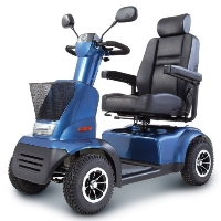Afikim Afiscooter C 4 Wheeled Mid Size Mobility Scooter - FTC4078