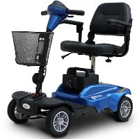 270 Watt Minirider Folding Mobility Scooter Electric Powered Four Wheel Folding Mobility Scooter