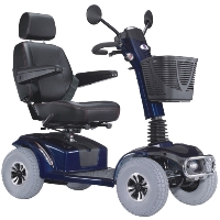 MIRAGE 450 Watt Mid Size Four Wheeled Trike Mobility Scooter