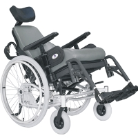 Spring Tilt-N-Space Manual Mobility Scooter Chair Wheelchair