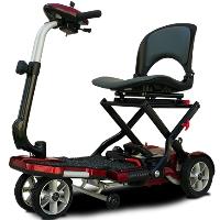 TRANSPORT PLUS 270 Watt Four Wheel Folding Mobility Scooter