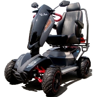 VITA MONSTER 900 Watt 4 Wheeled Trike Mobility Scooter