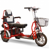 EW-02 Electric Folding Heavy Duty Bariatric Electric Three Wheeled Mobility Scooter