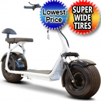 Fat Boy 800 Watt 60v Fat Tire Electric Scooter