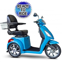 EWheels Jellybean Collection Electric 3 Wheel Mobility Scooter