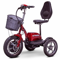 Ewheels Electric 3 Wheeled Mobility Scooter - EW-Big Wheels
