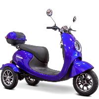 E-Wheels Three-Wheeled Mobility Scooter Trike - EW-Bugeye