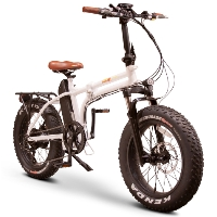 "EWheels 48v 750w Foldable Electric Bike with 20"" Tires - EW-Folding"