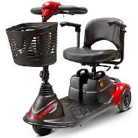 EWheels Lightweight Portable Travel Electric 3 Wheel Mobility Scooter - EW-M40