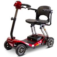 EWheels Electric 250W 4-Wheel Foldable Auto-Flex Travel Mobility Scooter - EW-REMO