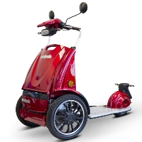 EWheels Electric 800 Watt 3 Wheel Moped Scooter - EW-77 Edge