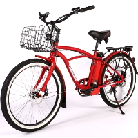 Newport Elite Max 36 Volt Electric Beach Cruiser Bicycle