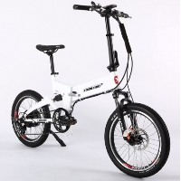 E-Rider 48 Volt Lithium Powered Electric Mini Folding Electric Bicycle