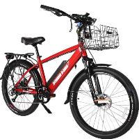 Laguna Beach Cruiser 48 Volt High Power Long Range Electric Bicycle