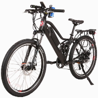 Sedona 48v Step-Through Electric Mountain Bicycle