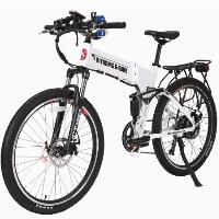 Baja 48 Volt Lithium Powered Electric Folding Mountain Bicycle - BAJA-48V