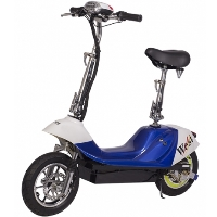 City Rider 500 Watt 36V Electric Scooter With E-Bike Quiet Hub Motor