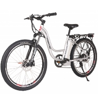 Trail Climber Elite 24 Volt Step Through Lithium Powered Electric Bicycle - TRAILCLIMB24-E
