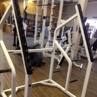 Refurbished Cybex Squat Rack