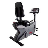"Refurbished Life Fitness 9500HR ""Dove Tail"" Recumbent Bike Like New Not Used"
