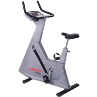 Refurbished Life Fitness 9500hr Belt Drive Bike