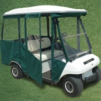 Brand New Vinyl Club Car DS 2000+ Four Passenger Golf Cart Enclosure