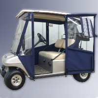 Brand New Club Car DS Pre-2000 Sunbrella Golf Cart Enclosure