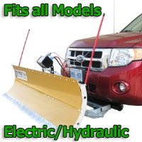 FirstTrax Snow Plow - Electric - Hydraulic or Both - Fits all Models