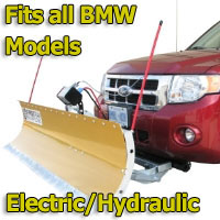FirstTrax Snow Plow - Electric - Hydraulic or Both - Fits all BMW Models