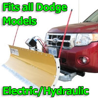 FirstTrax Snow Plow - Electric - Hydraulic or Both - Fits all Dodge Models