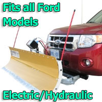 FirstTrax Snow Plow - Electric - Hydraulic or Both - Fits all Ford Models
