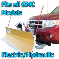 FirstTrax Snow Plow - Electric - Hydraulic or Both - Fits all GMC Models