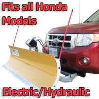 FirstTrax Snow Plow - Electric - Hydraulic or Both - Fits all Honda Models