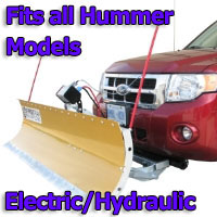 FirstTrax Snow Plow - Electric - Hydraulic or Both - Fits all Hummer Models