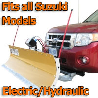 FirstTrax Snow Plow - Electric - Hydraulic or Both