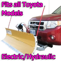 FirstTrax Snow Plow - Electric - Hydraulic or Both - Fits all Toyota Models