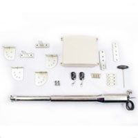 Gate Guard Silver Gate Opener Regular Kit