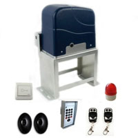 Residential/Commercial 3/4 HP Slide Gate Opener