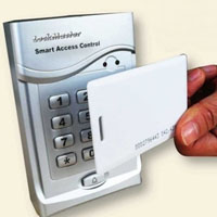Universal 12V Wired Keypad & Key Card Terminal for Gate Opener