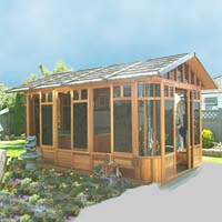Brand New Cottage Hot Tub Enclosure Gazebo - 10' x 14'