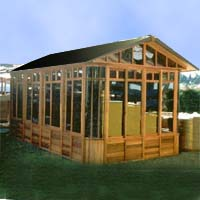 Brand New Cottage Hot Tub Enclosure Gazebo - 10' x 18'