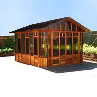 Brand New Cottage Hot Tub Enclosure Gazebo - 12' x 14'